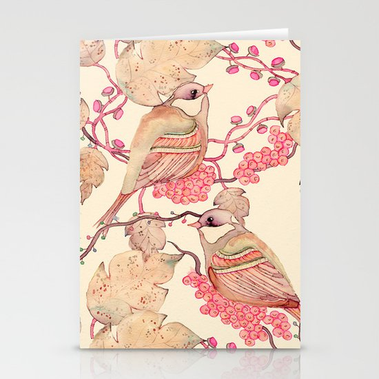 Happy Birds Stationery Cards