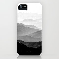 Mountain Mist - Black and White Collection iPhone (5, 5s) Slim Case