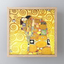 """Gustav Klimt """"Fulfillment"""" Framed Mini Art Print"""