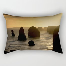 Sunset over the Twelve Apostles Rectangular Pillow