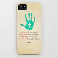 I will uphold you! iPhone (5, 5s) Slim Case