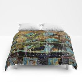 Glitch Cabinet Comforters
