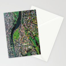Hamilton City, New Zealand - Aerial view  Stationery Cards