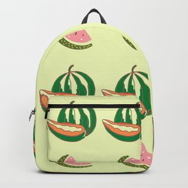 Collage of Watermelon & Guava  Backpack