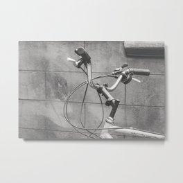 Commuter Bike Metal Print