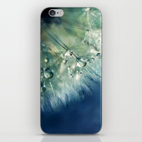 Dandelion Drama iPhone & iPod Skin