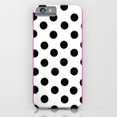 Pink and dots Slim Case iPhone 6s