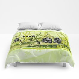 The Green Grass of Home #1 Comforters