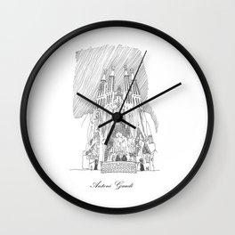 Antoni Gaudi Wall Clock