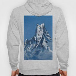 ANNAPURNA NEPAL - MOUNTAIN LANDSCAPE OIL PAINTING Hoody