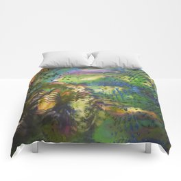 Depth of Color Comforters
