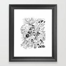 I've seen things (Black & White) Framed Art Print