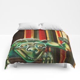 "Disneyland Haunted Mansion inspired ""Wall-To-Wall Creeps No.2"" Comforters"