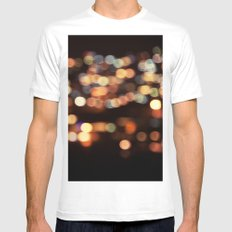 I have a dream... White Mens Fitted Tee MEDIUM