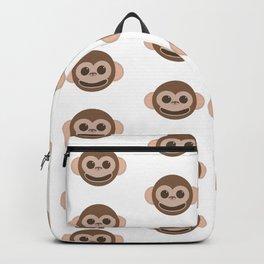 Happy Monkeys Pattern Backpack