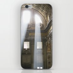 Sun rays in the Vatican, Italy iPhone & iPod Skin