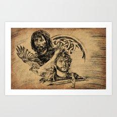 The Celts Art Print
