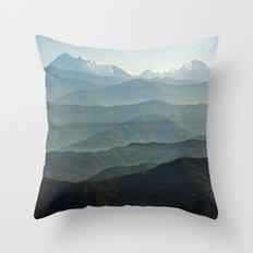 Hima - Layers Throw Pillow