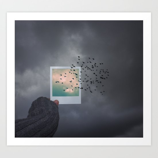 The next best thing to be Art Print