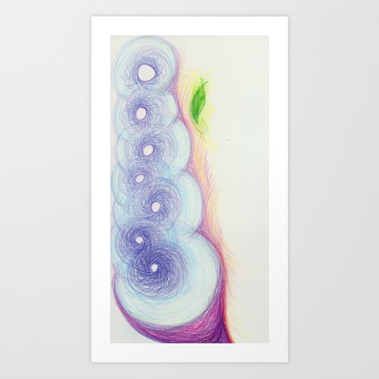 Gentle Lift Art Print