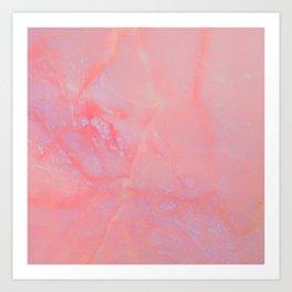 Summer Marble Art Print