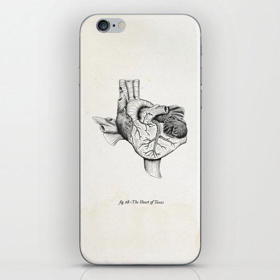 The Heart of Texas iPhone & iPod Skin