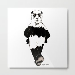 Riggo Monti Design #7 - The Riggo Bear Metal Print