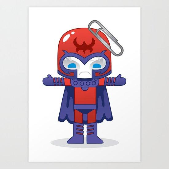 MAGNETO ROBOTIC Art Print
