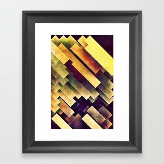 myy mysyry Framed Art Print