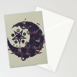 The Dark Moon Compels You to Fuck Shit Up Stationery Cards