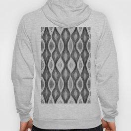 Organic pattern black white grey Hoody