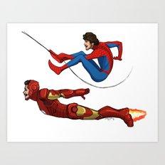 Super Li and Lou Art Print