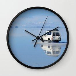 Salar De Uyuni Wall Clock
