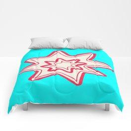 POW -  (Bright Blue) Comforters