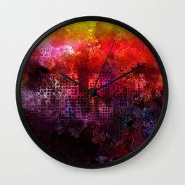 wonderful ghetto Wall Clock