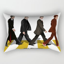 The Doctors at abbey road Rectangular Pillow