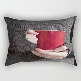 Hot Coffee Rectangular Pillow
