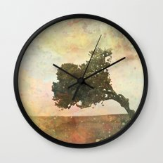 forest4 Wall Clock