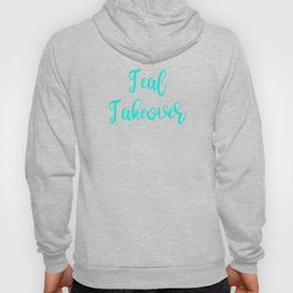 Food Allegy Teal Takeover Hoody