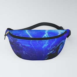 ELEPHANT LIGHTNING AND AFRICAN NIGHTS Fanny Pack