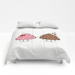 Love Sucks - Cute Doodles Comforters