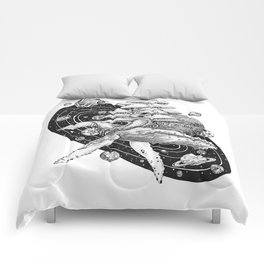 Space Whale Comforters