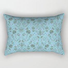 Diatom and Henna Tats Rectangular Pillow