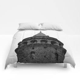 Galata Tower Comforters