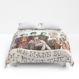 We Must Love Sherlock Holmes Comforters