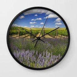 Countryside Vinyard Wall Clock