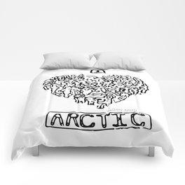 I Heart Arctic By Joseph Winters Comforters