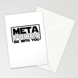 METAPHORS Be With You Loves English Stationery Cards