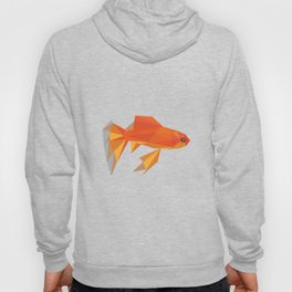 Cute Fish Goldfish Animal Colorful Orange Art Pets Aquarium Gift Idea Birthday Friends Hoody