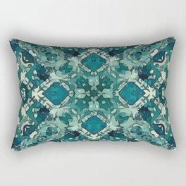 Celtic Green Garden Lattice Rectangular Pillow